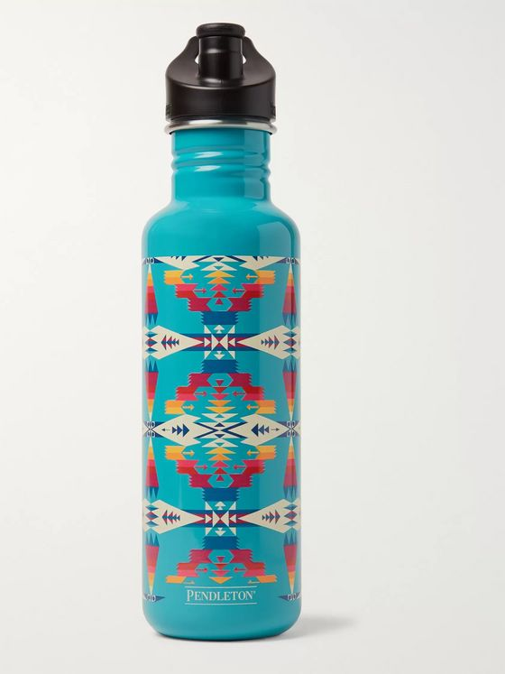 Pendleton Tucson Stainless Steel Klean Kanteen Insulated Water Bottle, 800ml