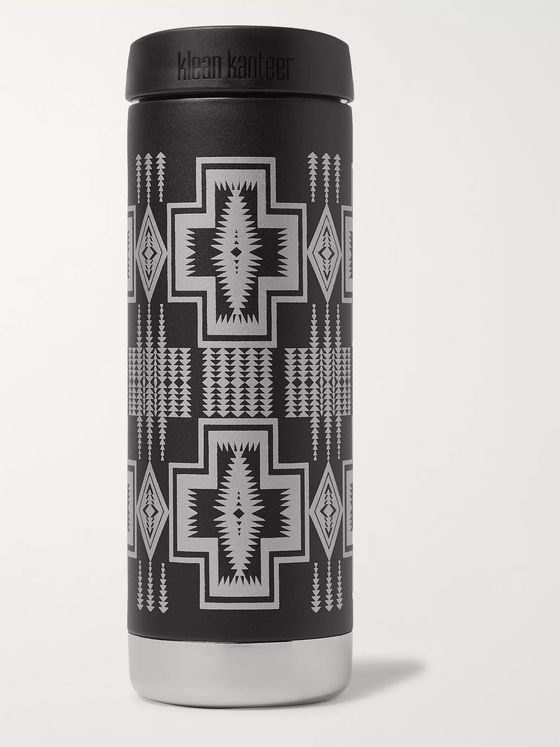 Pendleton Harding Stainless Steel Klean Kanteen Insulated Water Bottle, 473ml