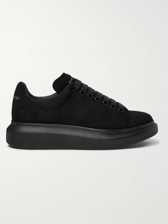 ALEXANDER MCQUEEN Exaggerated-Sole Suede Sneakers