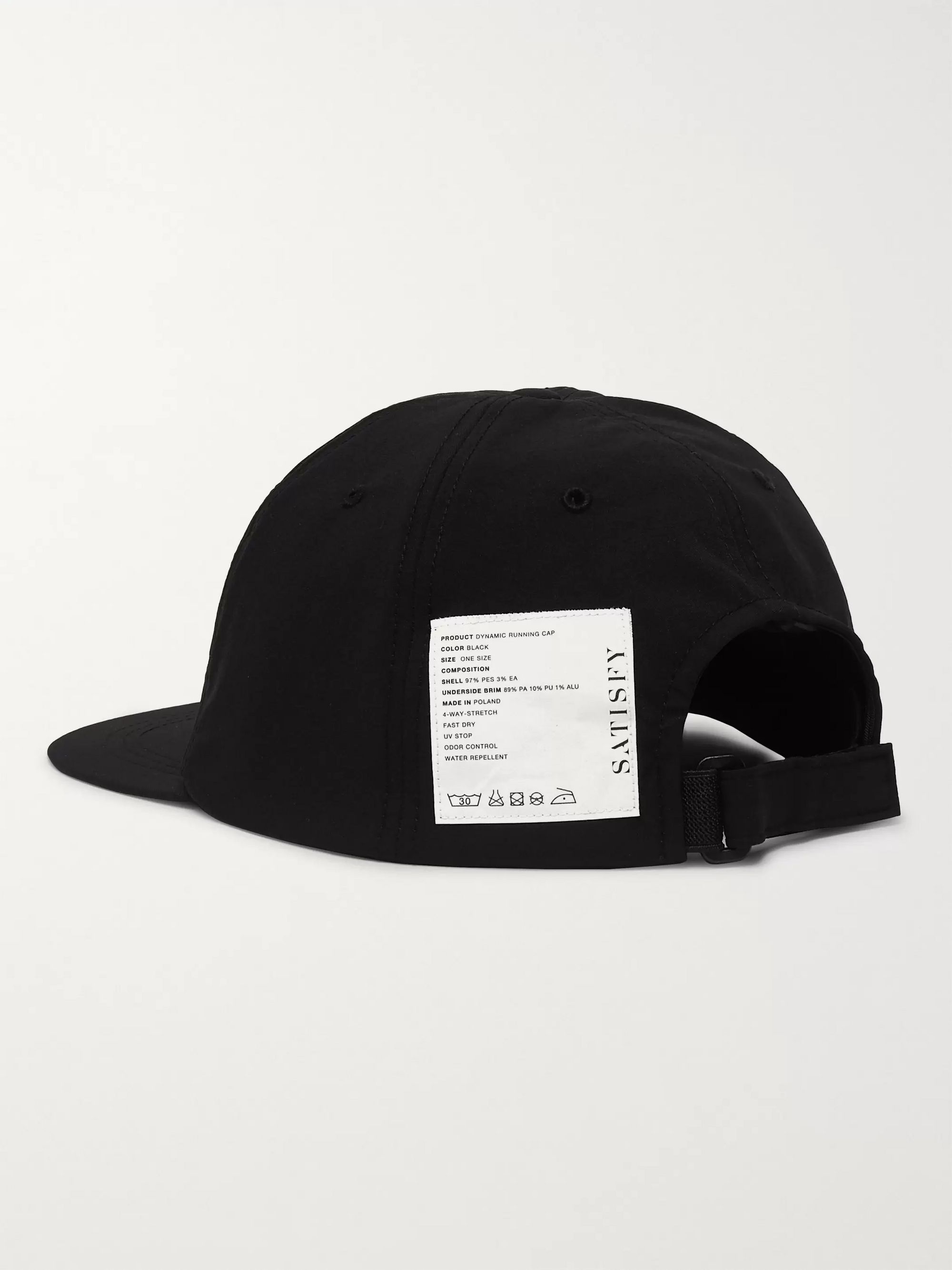Satisfy Dynamic 3XDRY and Coldblack Running Cap