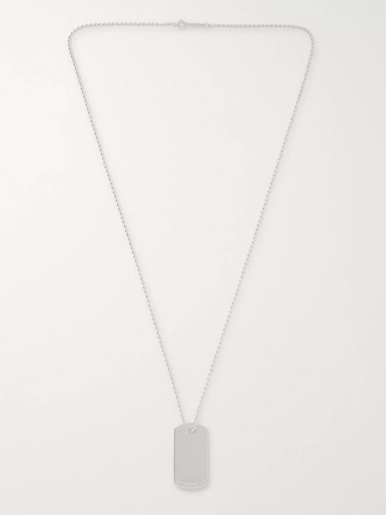 Tiffany & Co. Tiffany 1837 Makers Sterling Silver I.D. Necklace