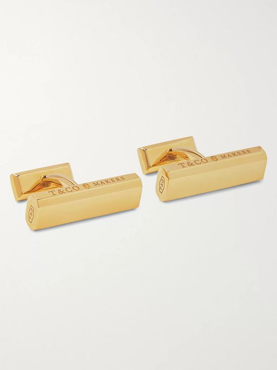 Tiffany & Co. Tiffany 1837 Makers 18-Karat Gold Cufflinks