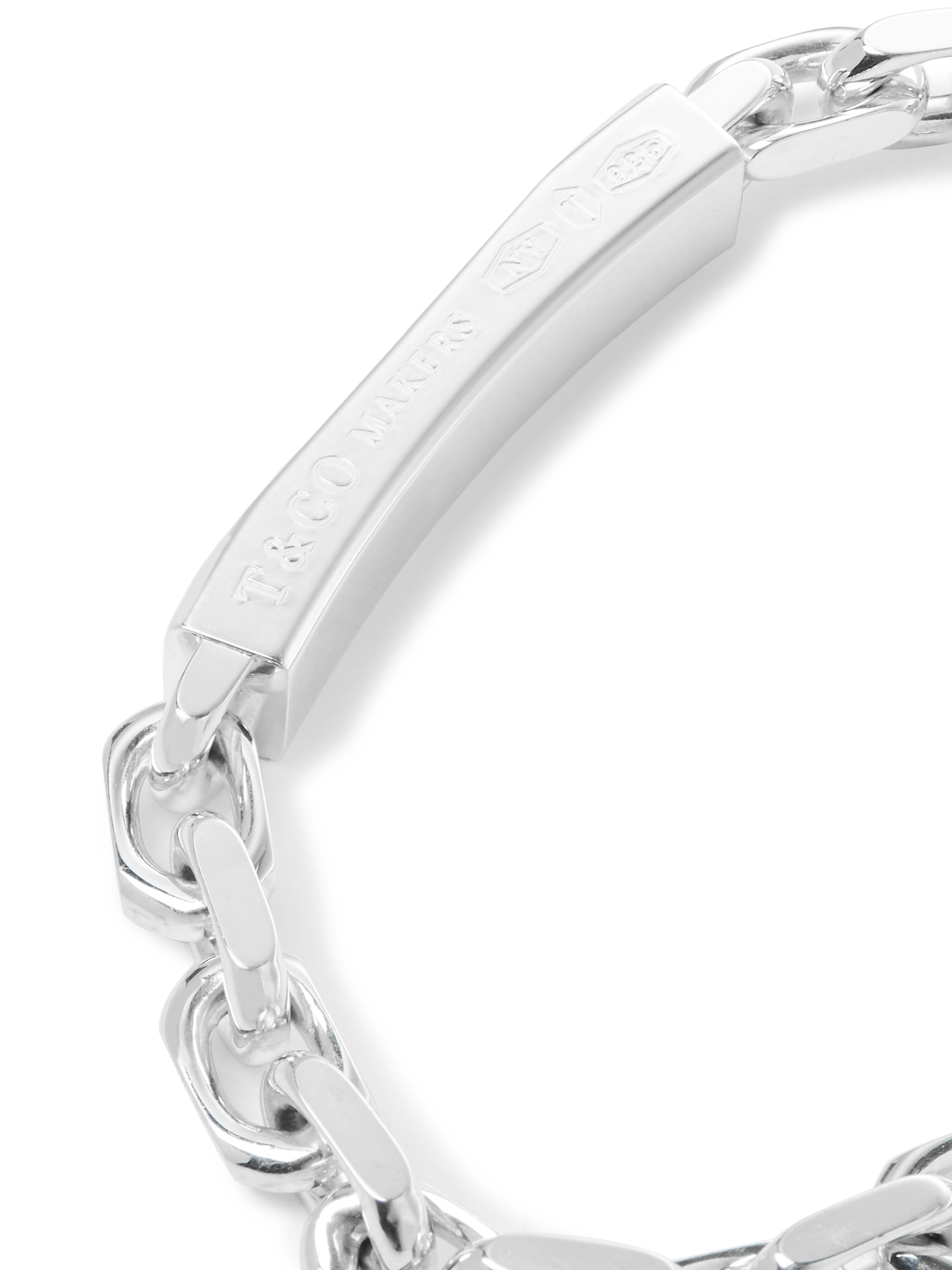 Tiffany & Co. Tiffany 1837 Makers Sterling Silver I.D. Chain Bracelet
