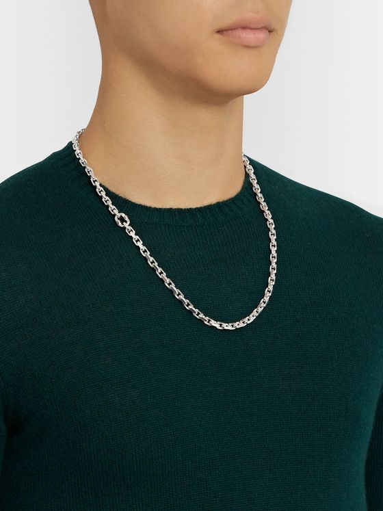 Tiffany & Co. Tiffany 1837 Makers Sterling Silver Necklace