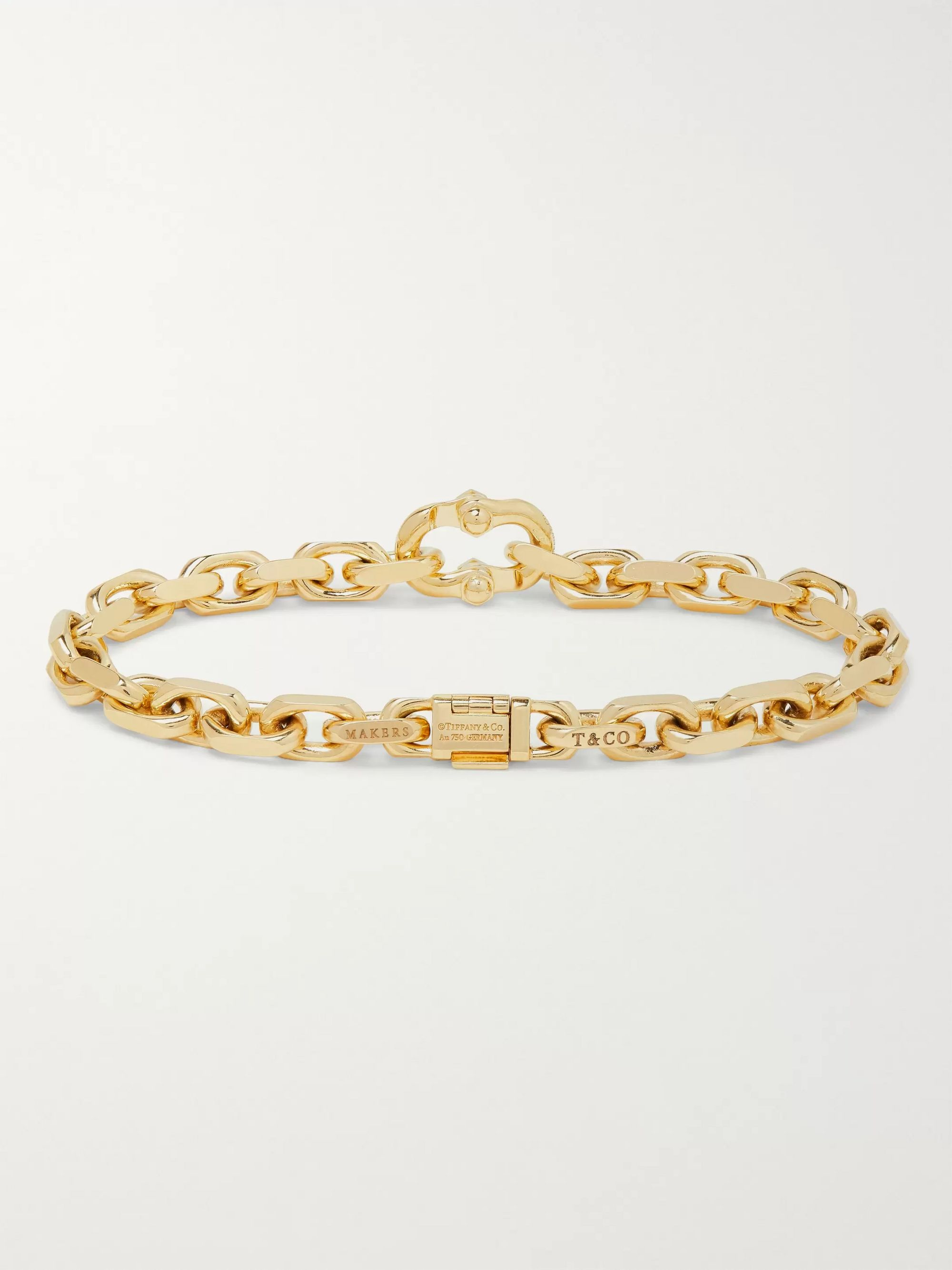 Tiffany & Co. Tiffany 1837 Makers 18-Karat Gold Bracelet