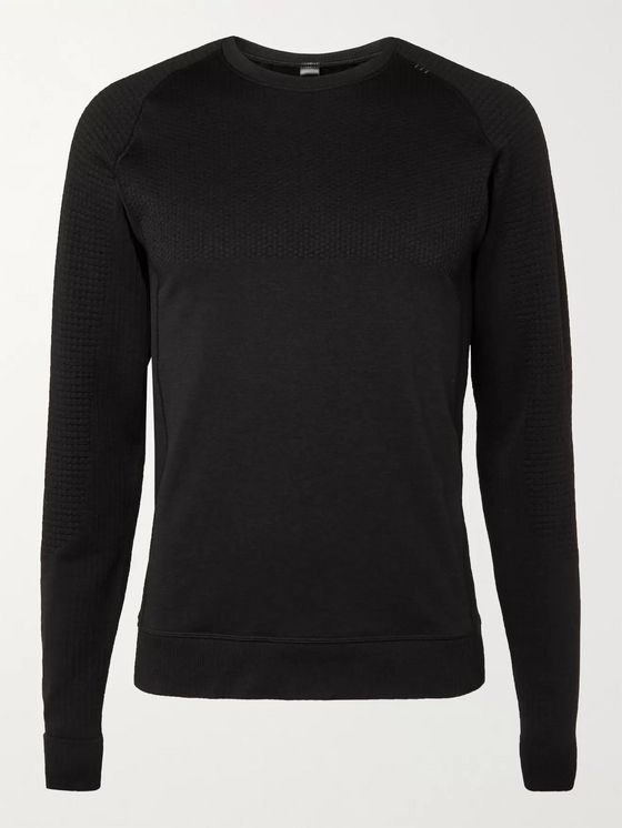 LULULEMON Engineered Warmth Textured-Jersey Top