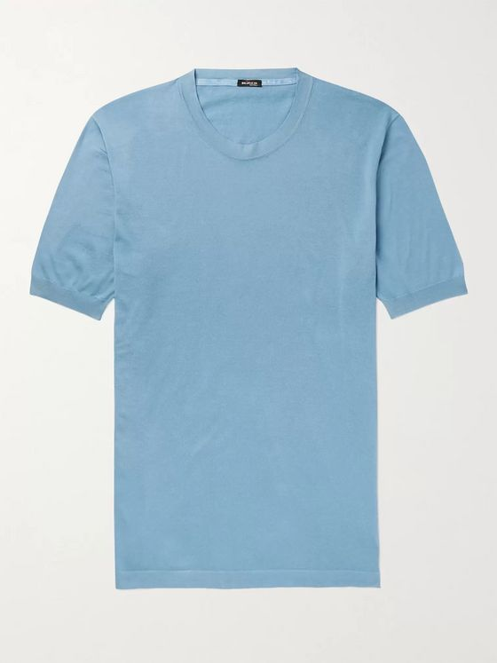 Kiton Slim-Fit Cotton T-Shirt