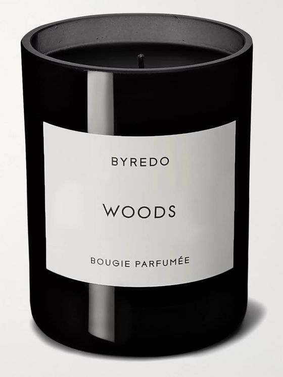 BYREDO Woods Scented Candle, 240g