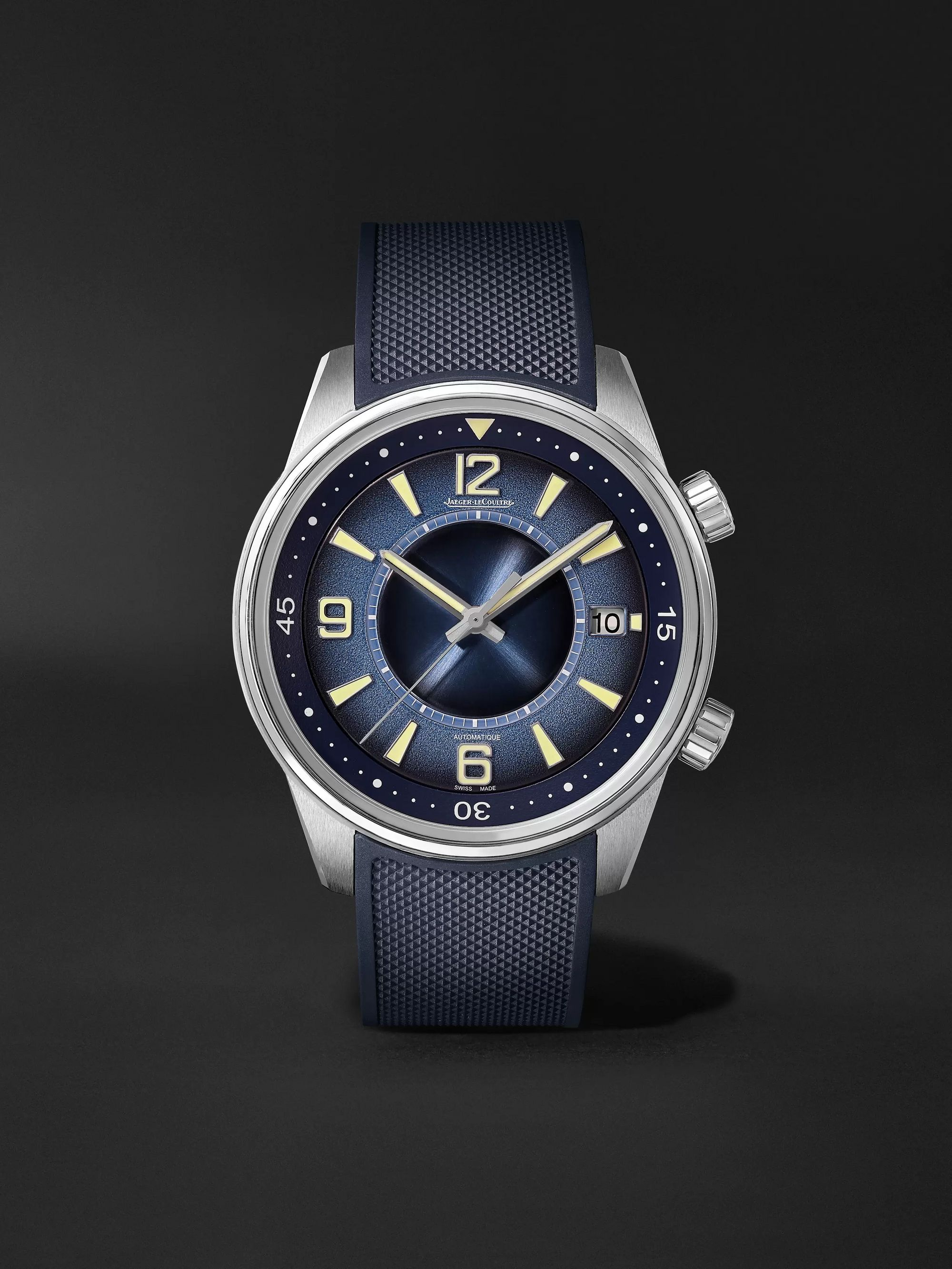 Jaeger-LeCoultre Polaris Date Limited Edition Automatic 42mm Stainless Steel and Rubber Watch, Ref. No. Q9068681