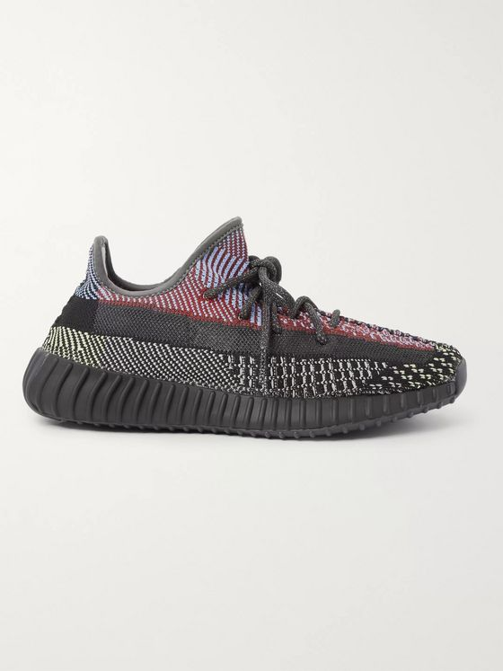 adidas Originals Yeezy Boost 350 V2 Primeknit and Mesh Sneakers