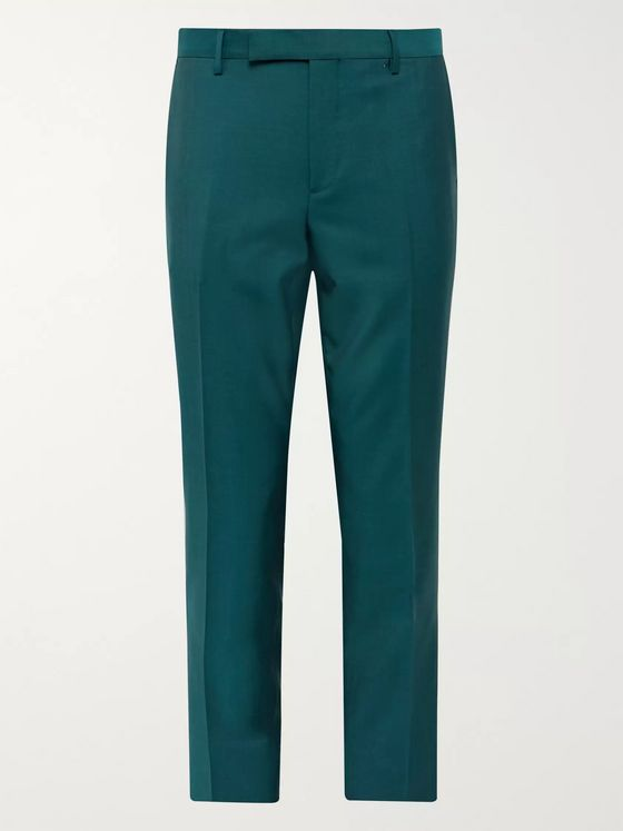 Paul Smith Soho Slim-Fit Wool and Mohair-Blend Suit Trousers