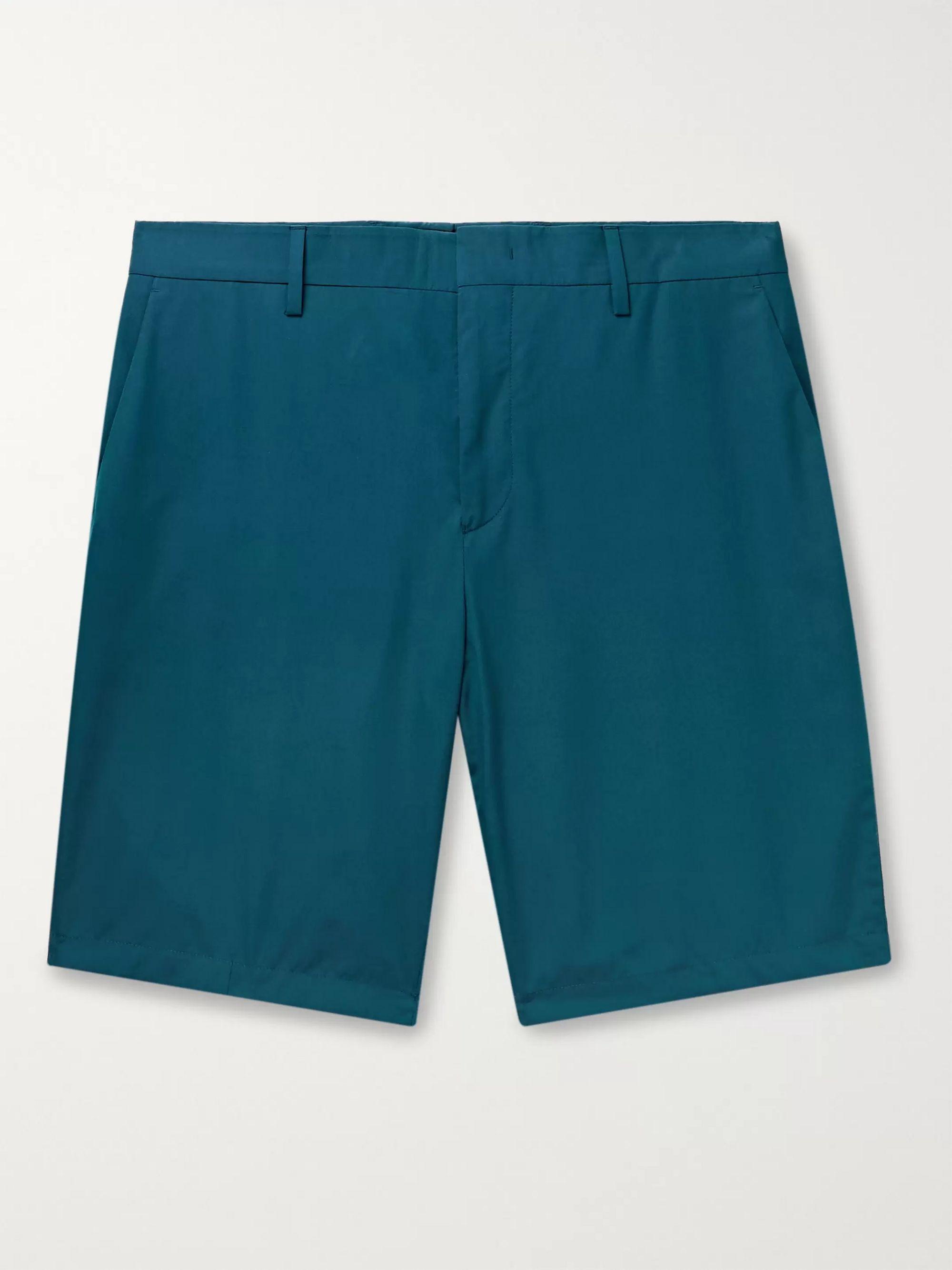 폴 스미스 Paul Smith Cotton Shorts,Teal