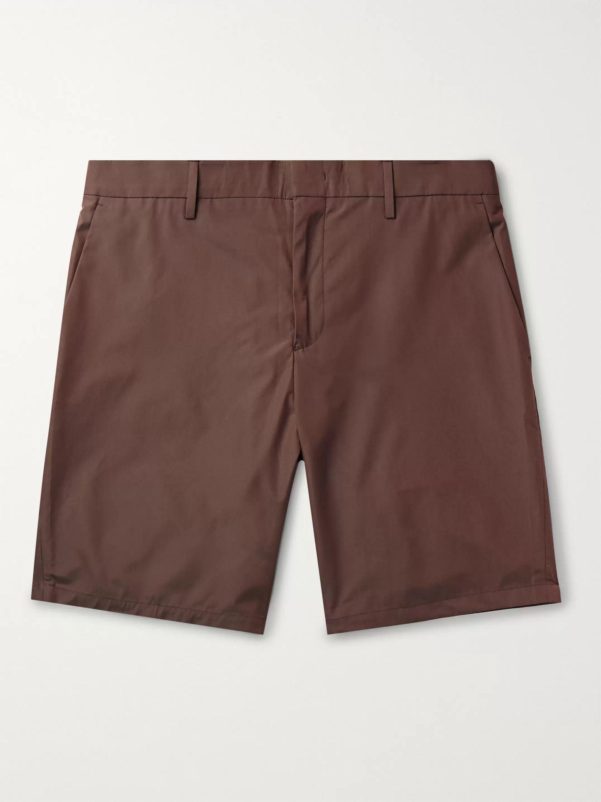 폴 스미스 Paul Smith Cotton Shorts,Chocolate
