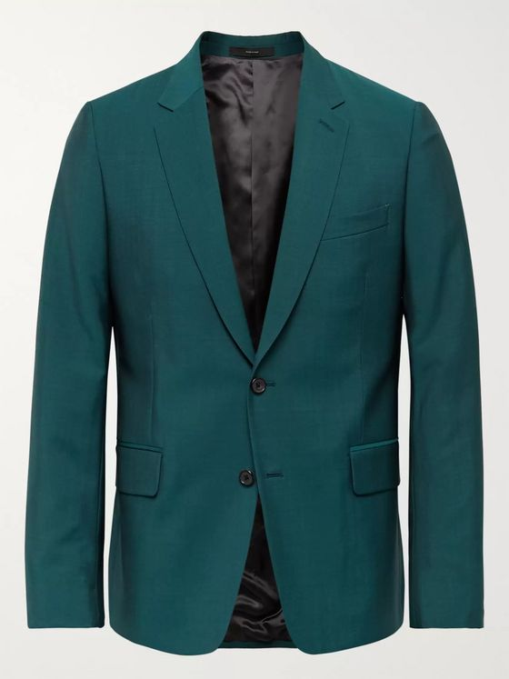 Paul Smith Soho Slim-Fit Wool and Mohair-Blend Suit Jacket