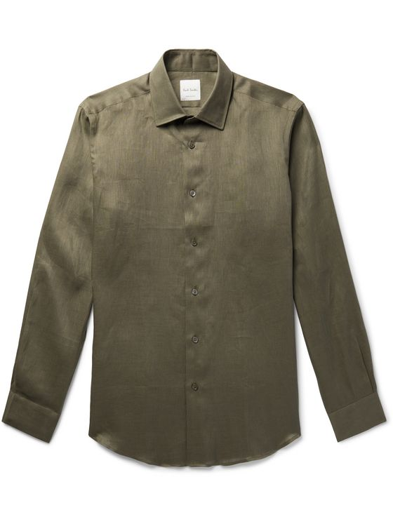 Paul Smith Soho Linen Shirt