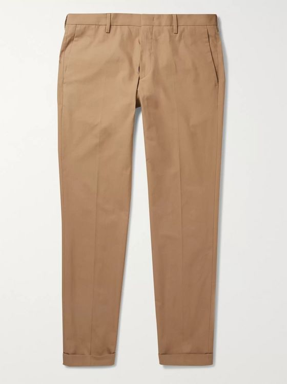 Paul Smith Slim-Fit Cotton-Twill Chinos