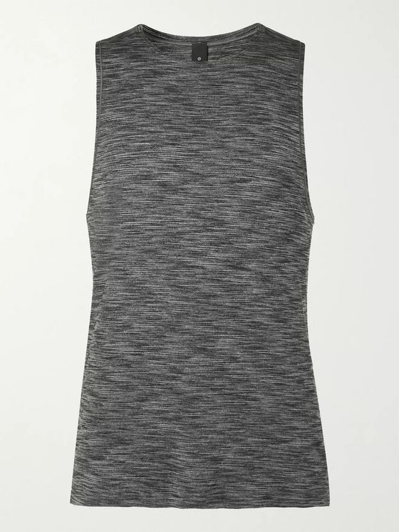 Lululemon In Sequence Mélange Stretch-Jersey Yoga Tank Top
