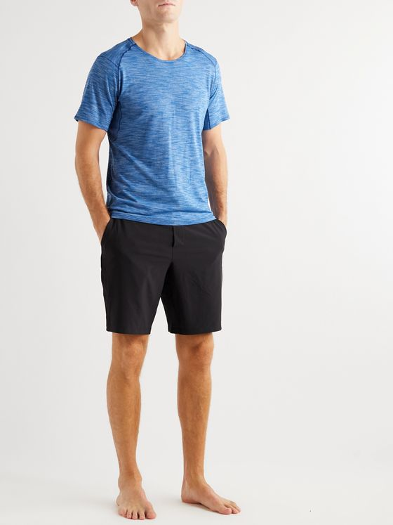 LULULEMON Mélange Stretch-Jersey Yoga T-Shirt