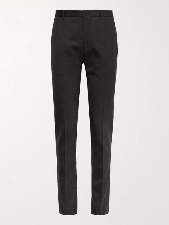 INCOTEX Urban Traveller Slim-Fit Pinstriped Stretch-Twill Trousers