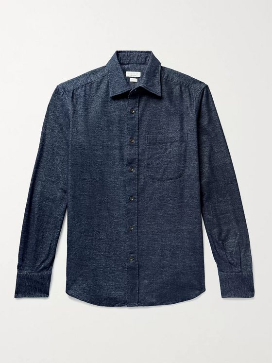 INCOTEX Cotton-Flannel Shirt