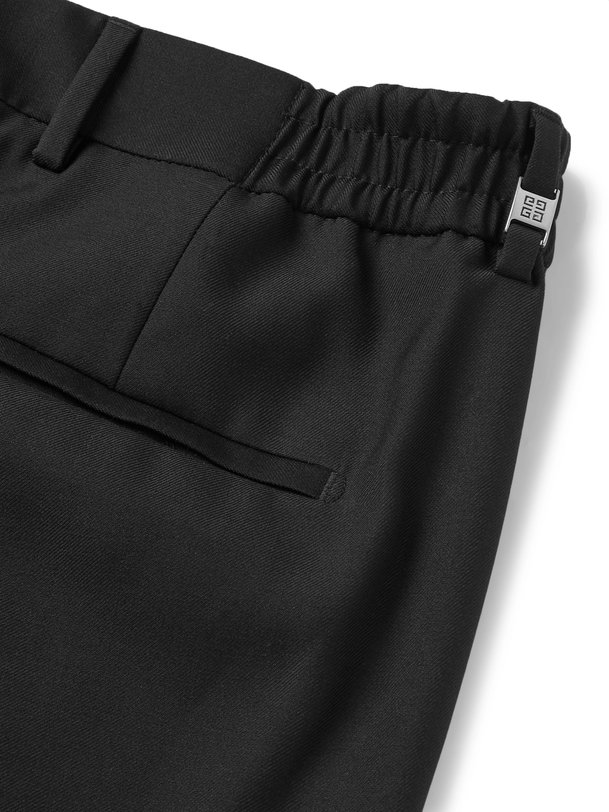 Givenchy Tapered Wool-Twill Trousers