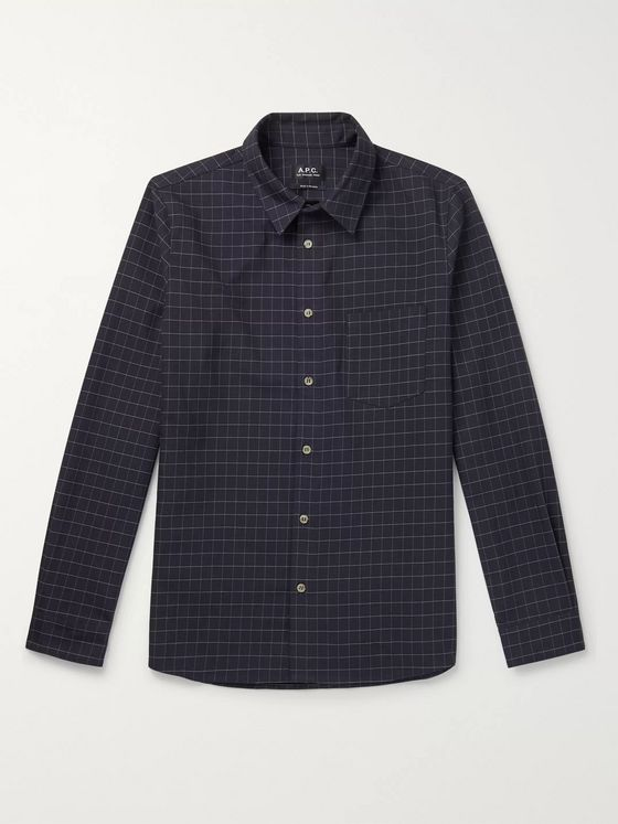 A.P.C. Vico Checked Cotton Shirt