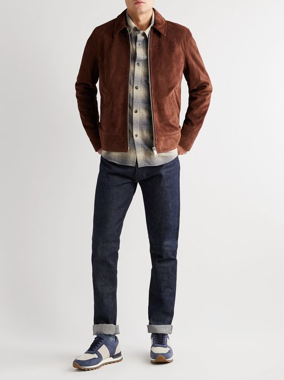 A.P.C. Frene Suede Jacket