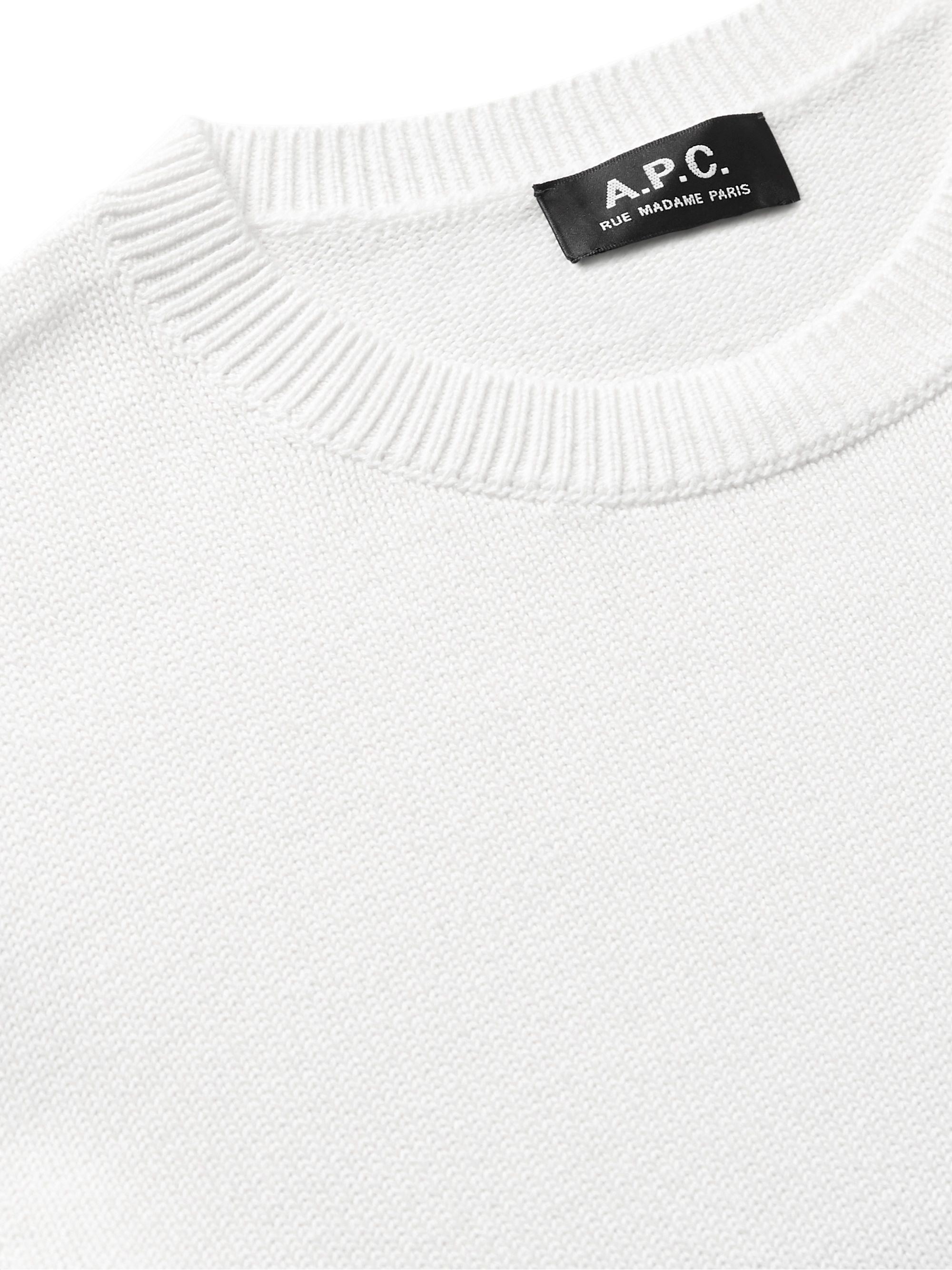 Blue Skyline Dégradé Cotton Sweater | A.p.c.