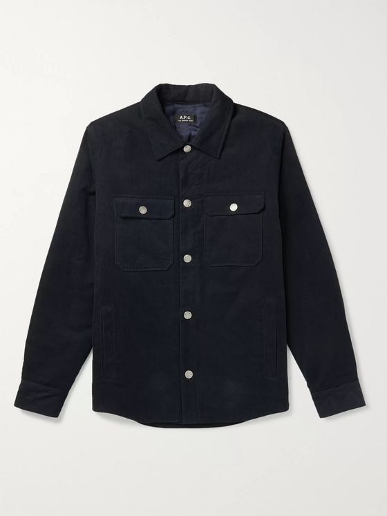 A.P.C. Alex Cotton-Corduroy Overshirt