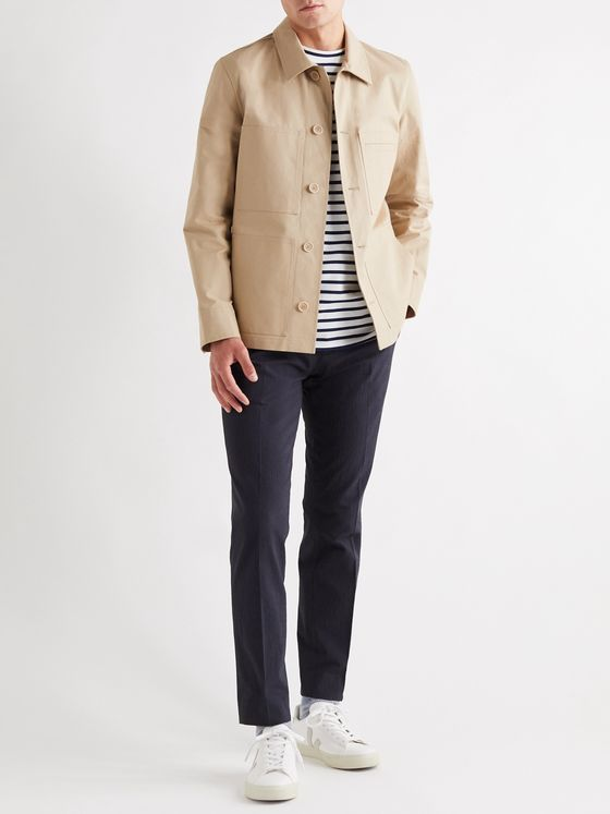 A.P.C. Andre Cotton-Canvas Jacket