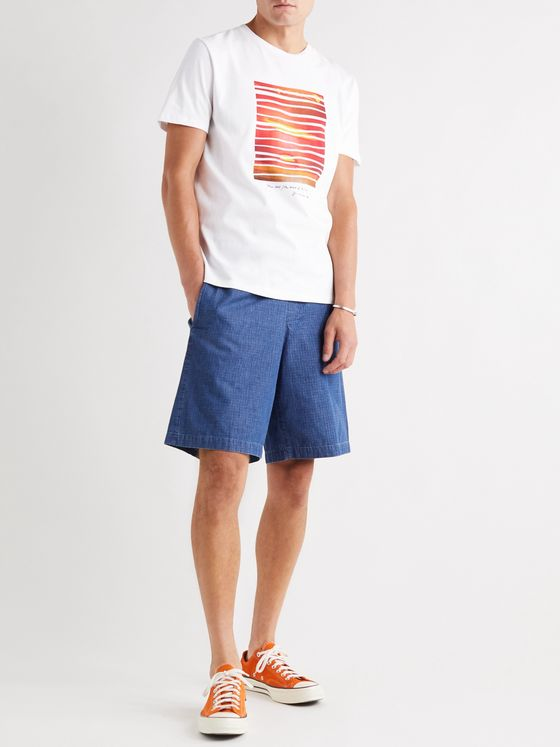 A.P.C. Nika Printed Cotton-Jersey T-Shirt