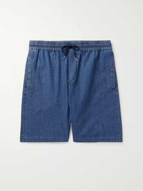 A.P.C. Kaplan Cotton-Ripstop Drawstring Shorts