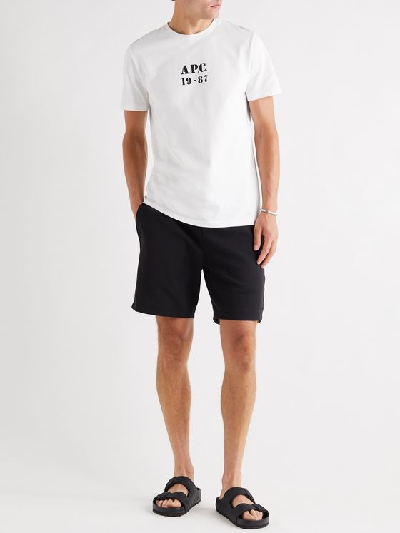 A.P.C. Georges Logo-Print Cotton-Jersey T-Shirt