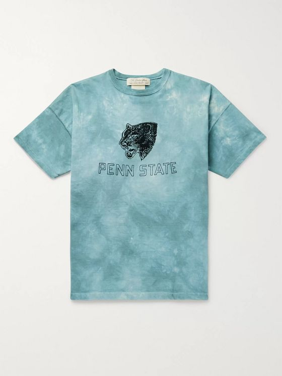 Remi Relief Tie-Dyed Printed Cotton-Jersey T-Shirt