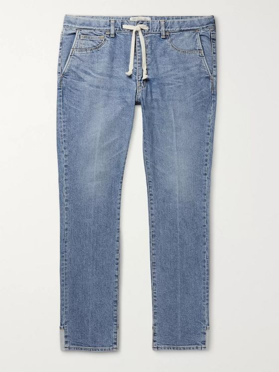 Remi Relief Denim Drawstring Jeans