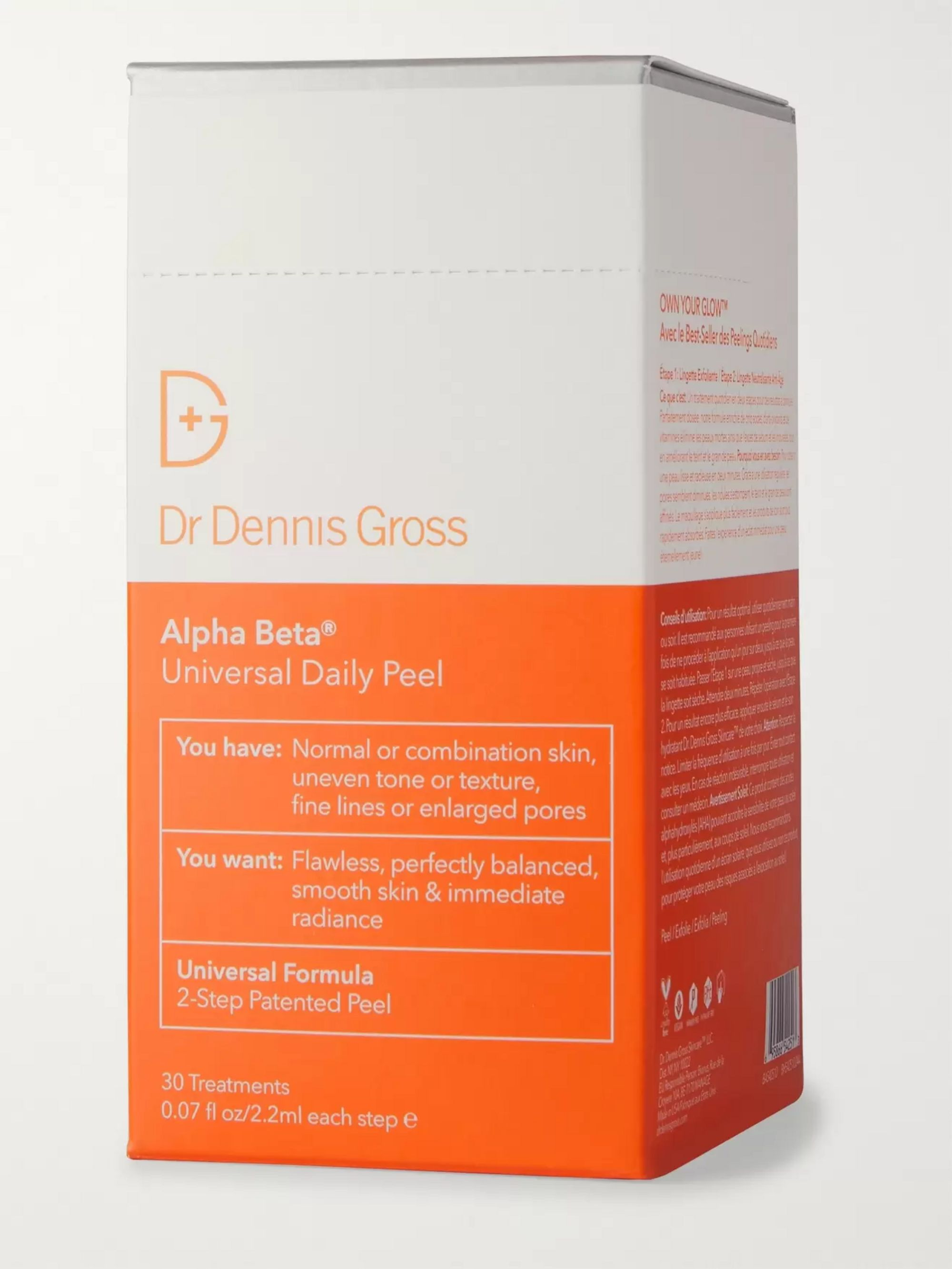 DR. DENNIS GROSS SKINCARE Alpha Beta® Universal Daily Peel, 30 x 2.2ml