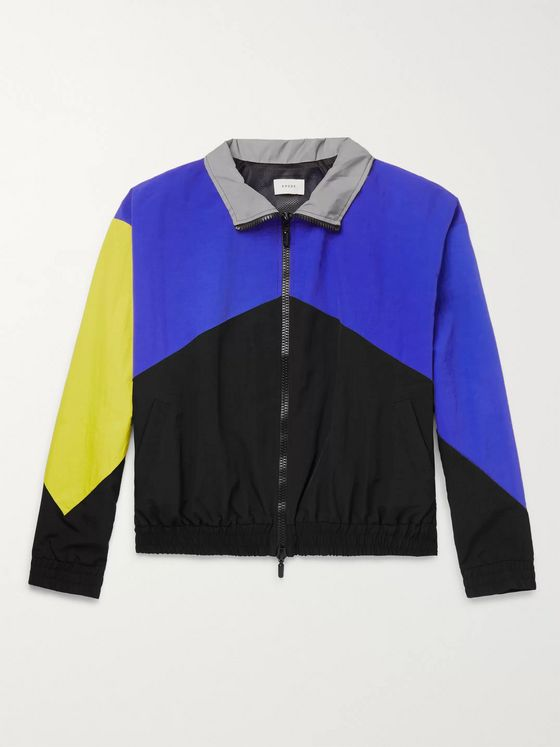 Rhude Panelled Shell Bomber Jacket