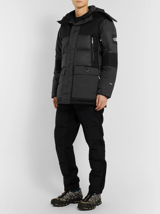 The North Face V-Stok Faux Fur-Trimmed Quilted Shell Hooded Down Parka