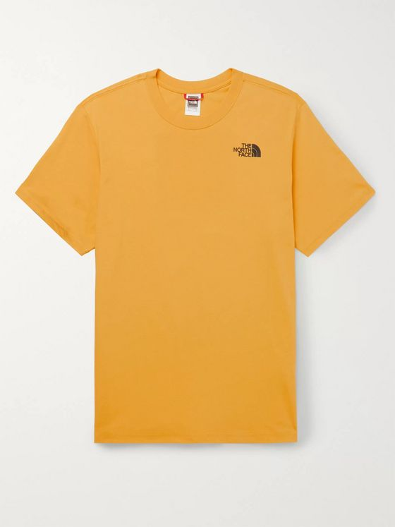 The North Face Red Box Logo-Print Cotton-Jersey T-Shirt