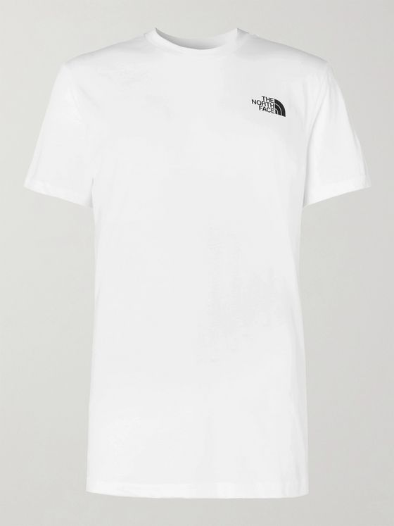 The North Face Dome Logo-Print Cotton-Jersey T-Shirt