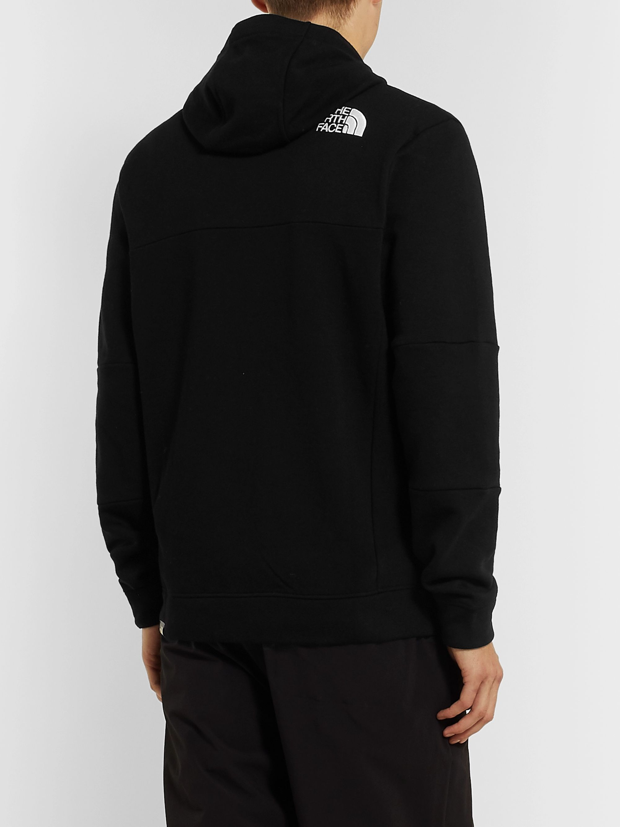 The North Face Himalayan Loopback Cotton-Jersey Hoodie