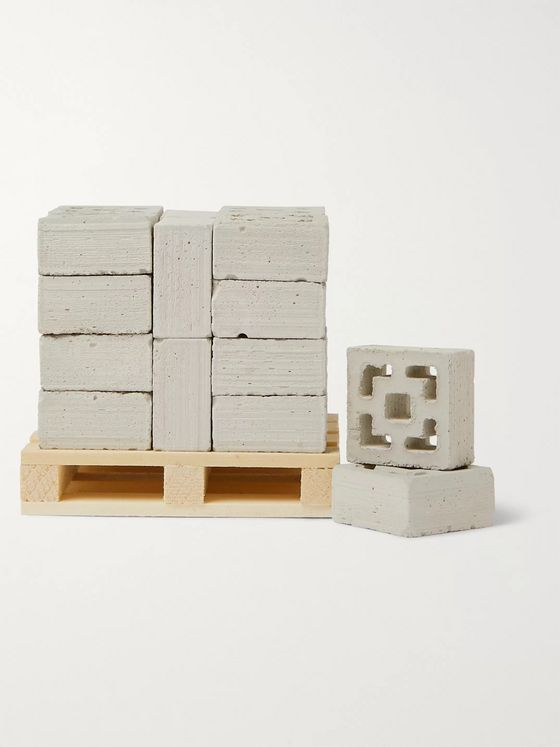 Mini Materials Set of 24 1:12 Model Breeze Blocks