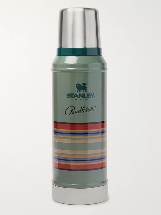 Pendleton + Stanley Printed Insulated Stainless Steel Thermos Flask