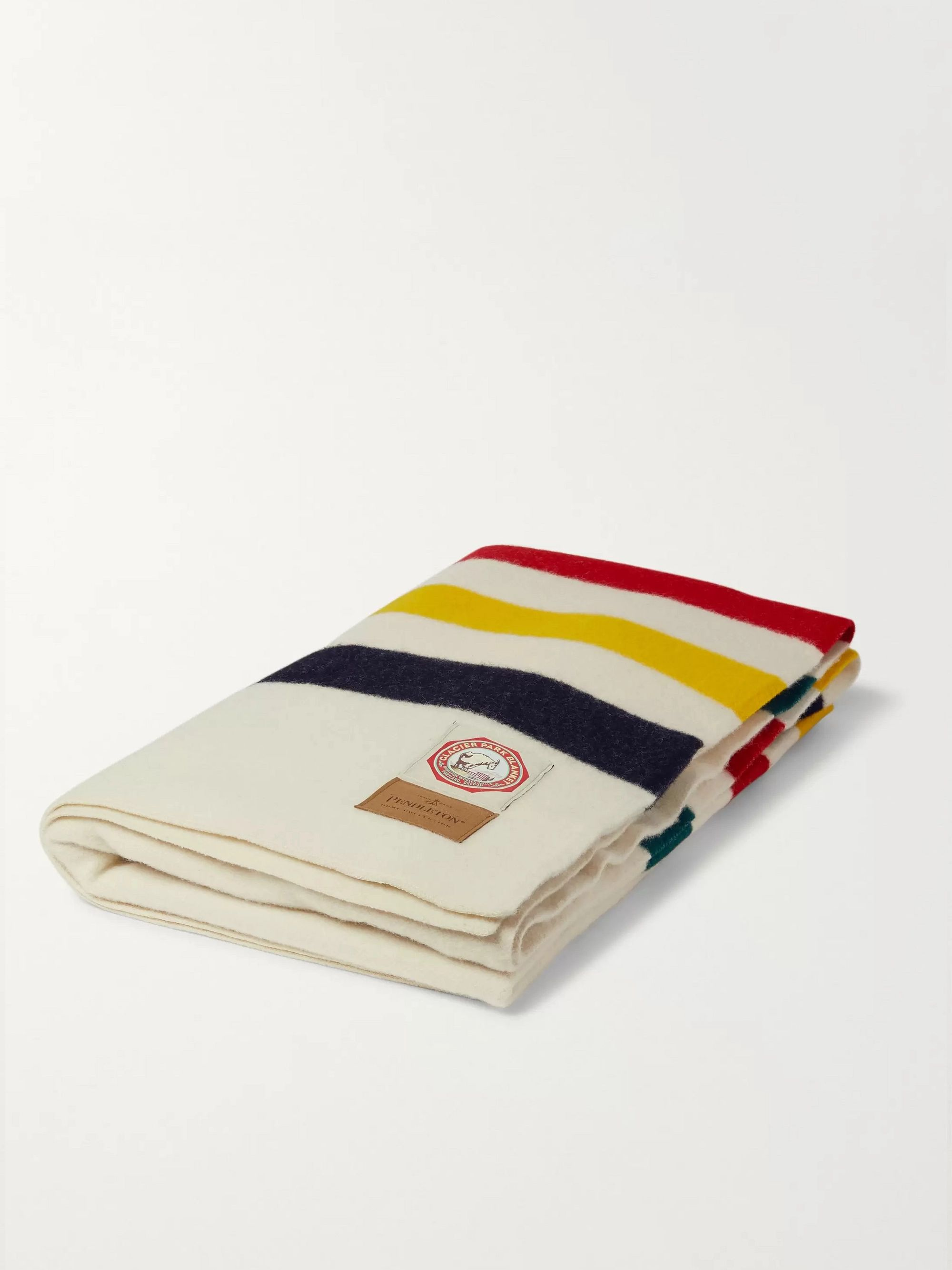 Pendleton Striped Wool Throw