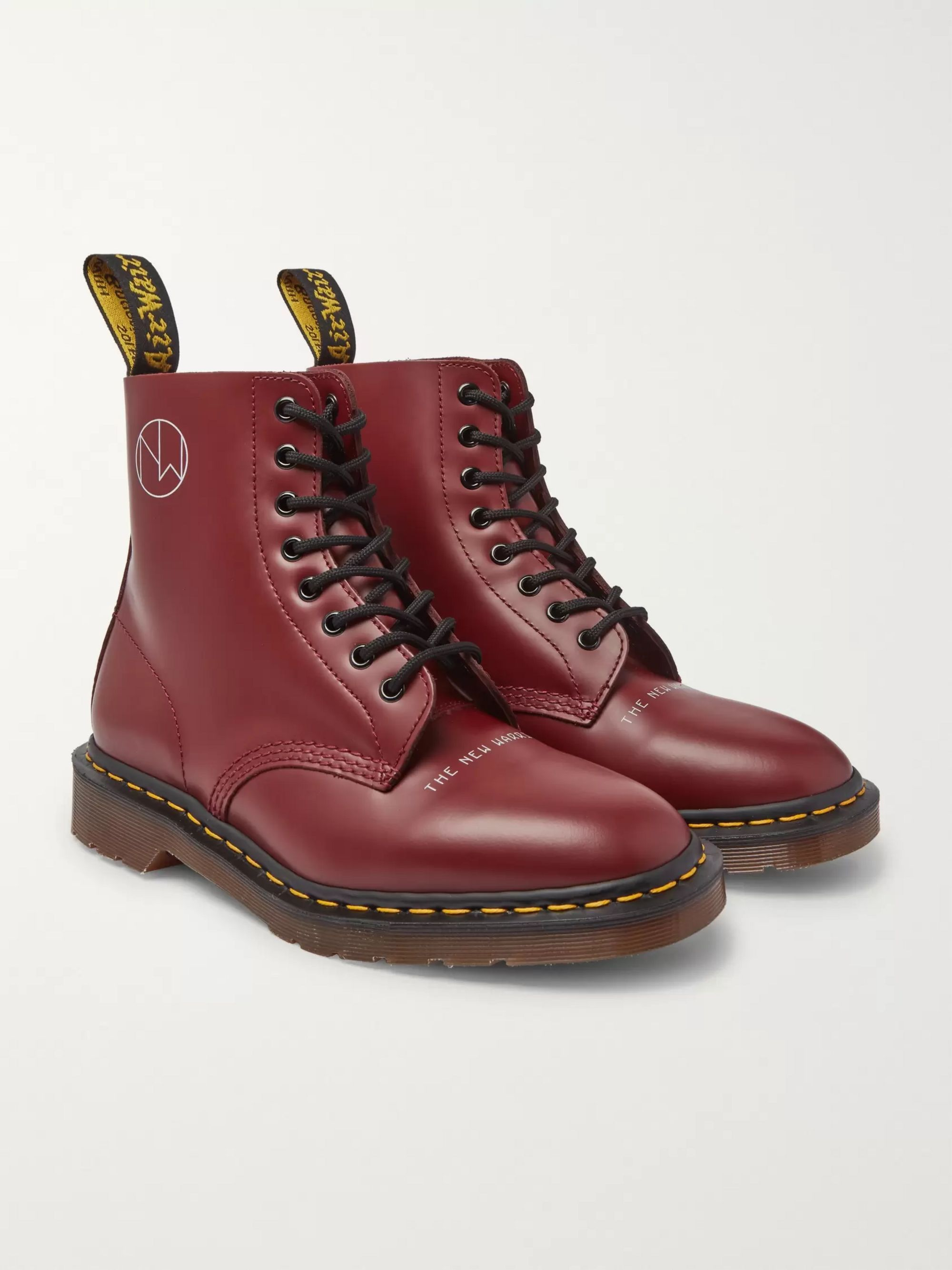 hot sale online e2086 fa442 + Dr. Martens 1460 Printed Leather Boots