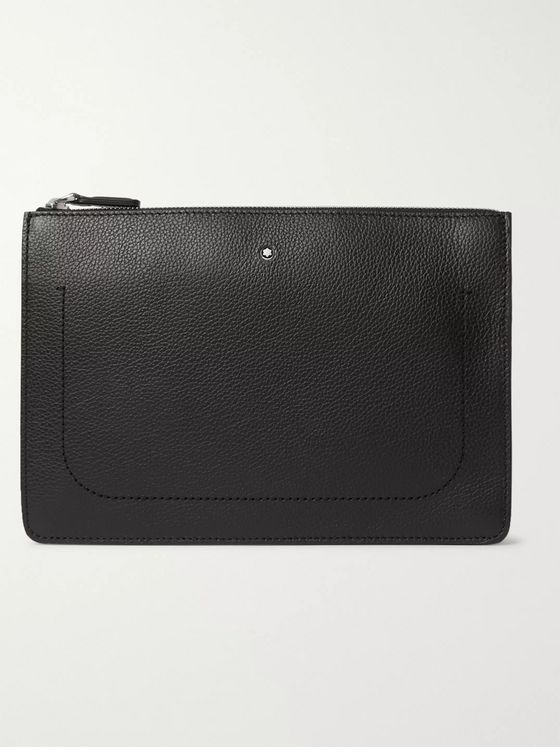 Montblanc Full-Grain Leather Pouch