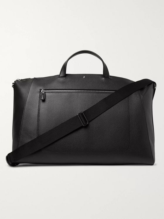 Montblanc Meisterstück Full-Grain Leather Holdall