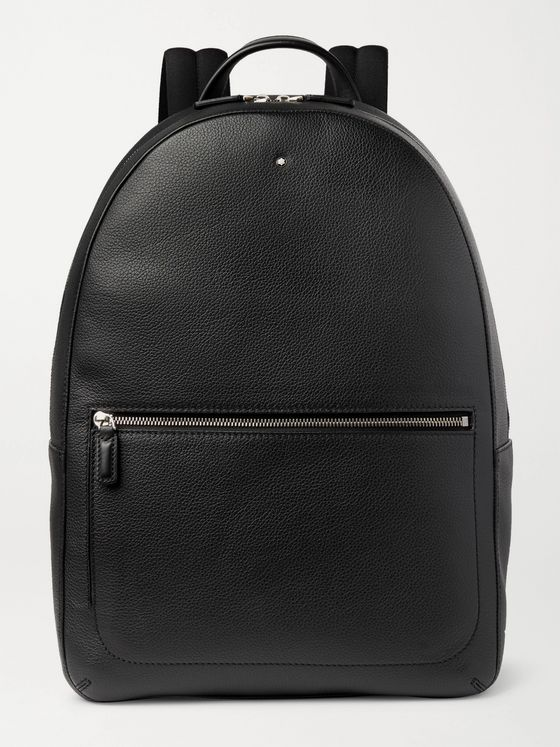 Montblanc Full-Grain Leather Backpack