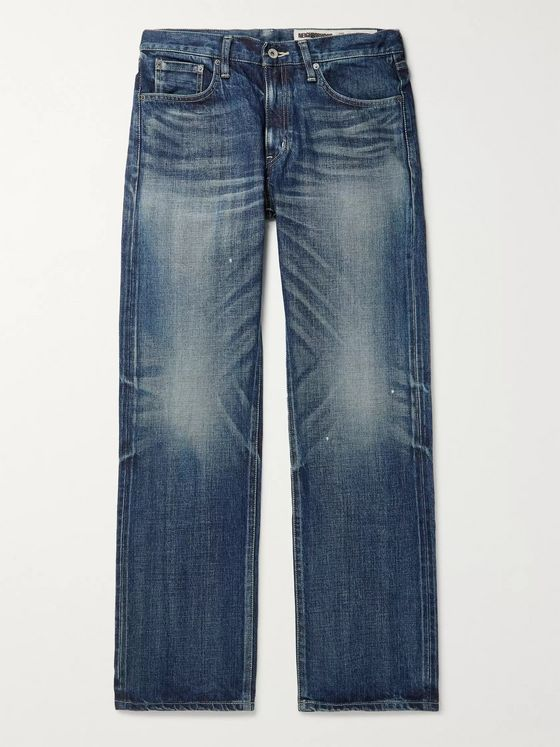 Neighborhood Washed Selvedge Denim Jeans