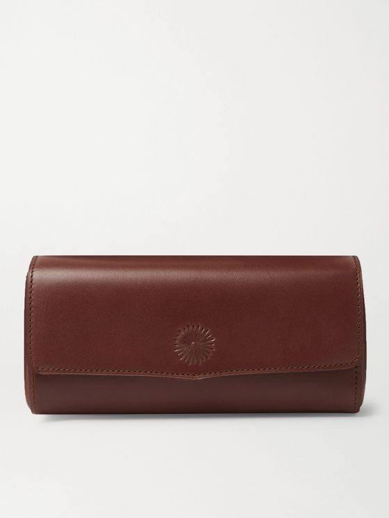 Purdey Leather Sunglasses Case